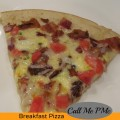 Simple & Delicious Breakfast Pizza
