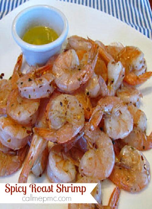 spicy roasted shrimp