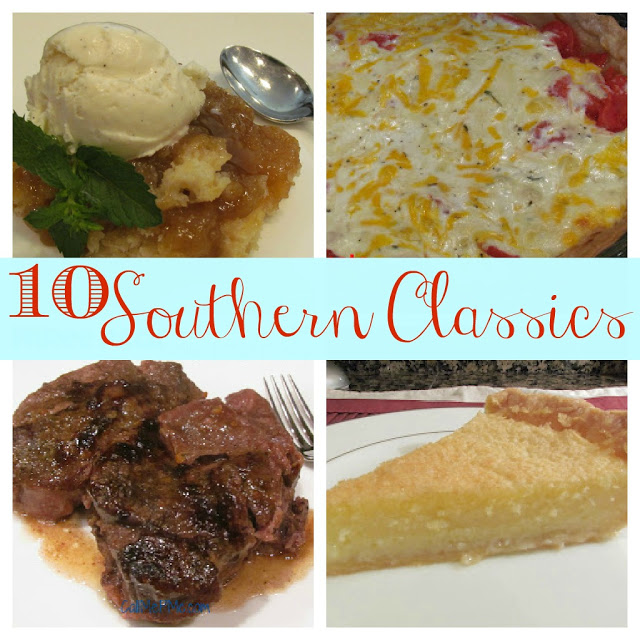 10 Southern Classics from https://www.callmepmc.com/2012/11/ten-southern-classics/