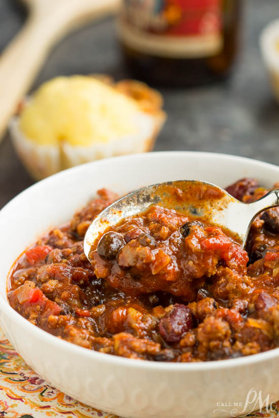 First Place Chili recipe is a great cold weather meal. Made in one pot, it's an easy weeknight dinner for your family with plenty of leftovers.