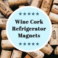 Wine Cork Craft ~ Refrigerator Magnets