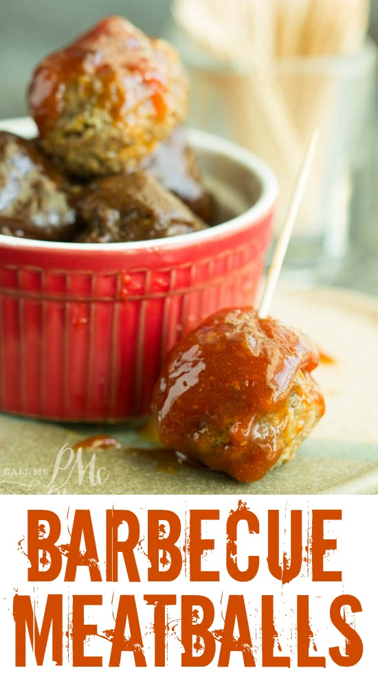 BBQ Meatballs is the perfect comfort food and a great recipe for entertaining or weeknight meals. Along with a bold flavor, they are easy to make in either the oven or slow cooker.