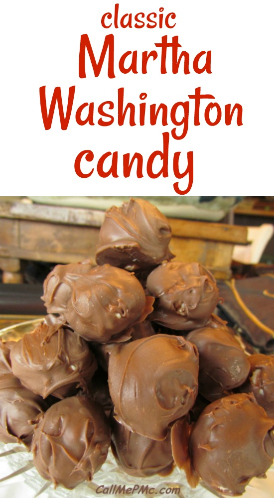 Martha Washington Candy is a classic candy made with chocolate, coconut and pecans. I simplify the recipe without losing any of that classic taste!
