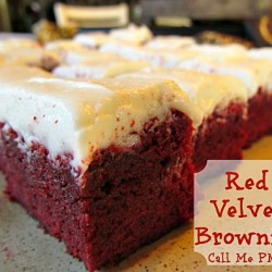 Red Velvet Brownies 500 #callmepmc