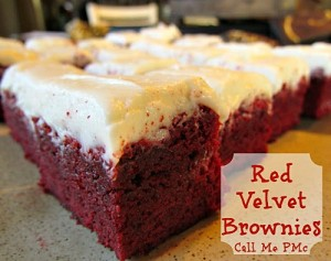 Red Velvet Brownies 500 #callmepmc