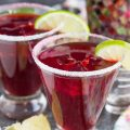Skinny Pomegranate Margarita