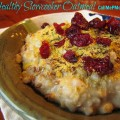 Healthy Slowcooker Oatmeal
