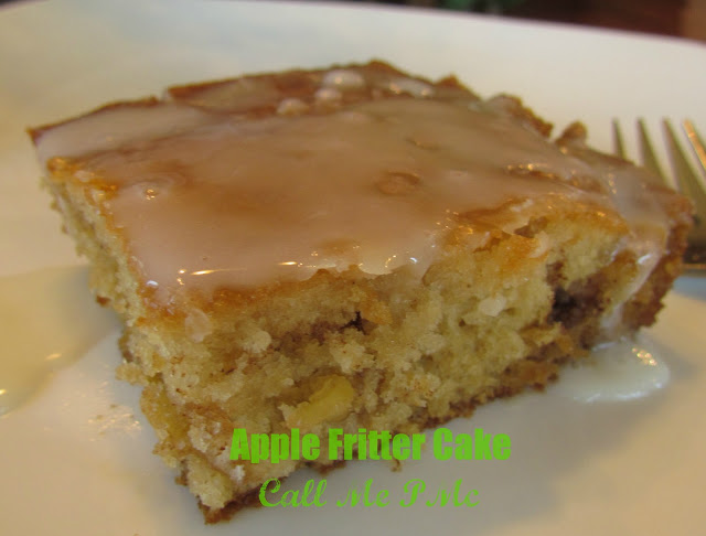 Apple Fritter Cake https://www.callmepmc.com/2012/11/apple-fritter-cake/ #callmepmc