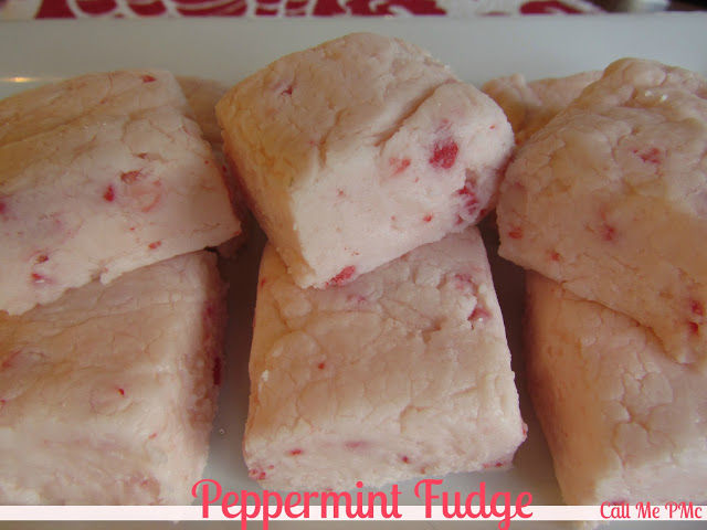 Peppermint fudge (no chocolate)