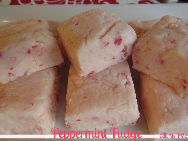 Peppermint fudge (no chocolate)