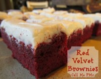 Red Velvet Brownies from Call Me PMc