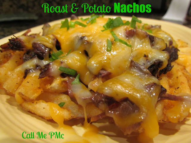 Irish roast and potato nachos #callmepmc