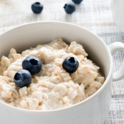 Healthy Slowcooker Steak Cut Oats cook up creamy while still maintaining some texture. #oats #healthy #breakfast #slowcooker #recipe #callmepmc