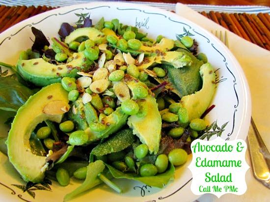 Avocado & edamame salad 1