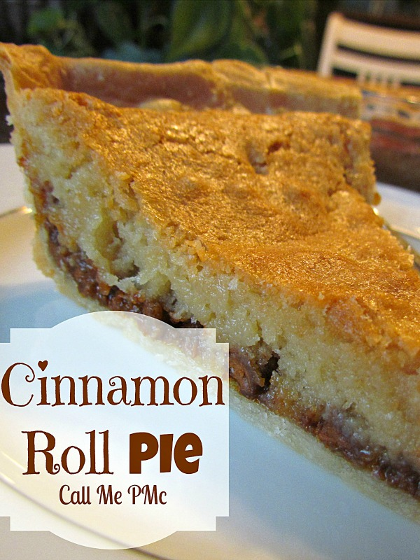 Cinnamon roll pie recipe