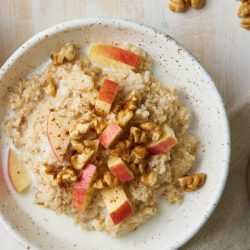 Apple Cinnamon Oatmeal is a delicious, healthy and wholesome breakfast.