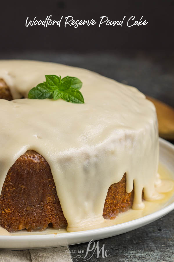 Woodford Reserve Pound Cake is a boozy twist on a Southern classic. #recipe #cake #bourbon #poundcake #homemade #fromscratch #poundcakepaula #Southern #dessert @WoodfordReserve via @pmctunejones