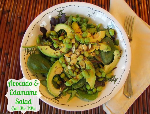 Avocado & Edamame Salad #callmepmc www.callmepmc.com