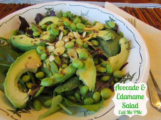Avocado & Edamame Salad