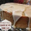 Woodford Reserve Bourbon Cake with Caramel Glaze
