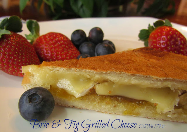 Brie Fig Grilled Cheese #callmepmc