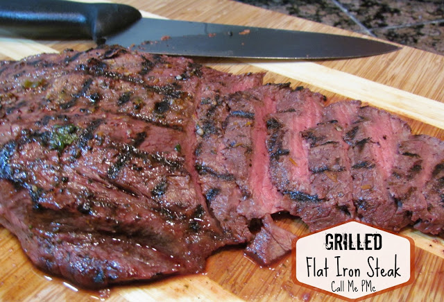 Orange Jalapeno Marinated Grilled Flat Iron Steak