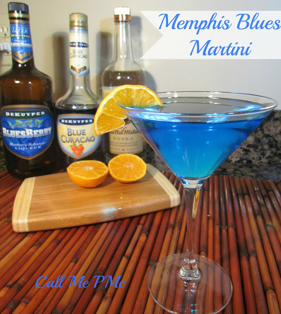 Call Me PMc Memphis Blue Martini