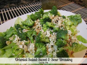 oriental salad #callmepmc
