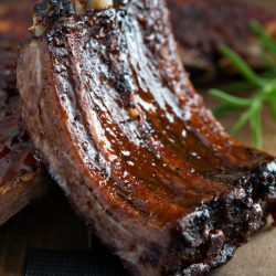 Favorite Short-cut Baby Back Ribs are made in the oven and come out consistently good time after time.