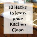How to Keep Your Kitchen Clean & Organized While Cooking