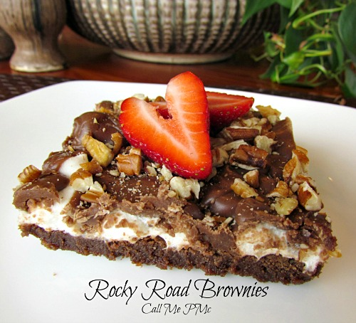 Rocky Road Brownies aka Mississippi Mud Cake recipe