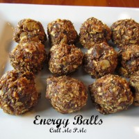 Quick and Easy Energy Balls