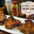 Grilled Pork Chops 3 Ways