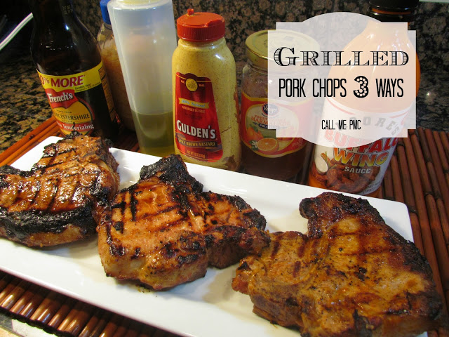 Grilled Pork Chops spicy, hot, fruity