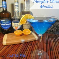 Memphis Blues Martini from Call Me PMc