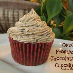 Oreo Frost Chocolate Cupcake
