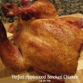 Perfect Applewood Smoked Beer Can Chicken