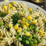 Easy Healthy Pasta Veggies
