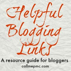 Helpful Blogging Links