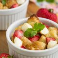 Strawberry Stuffed French Toast Casserole