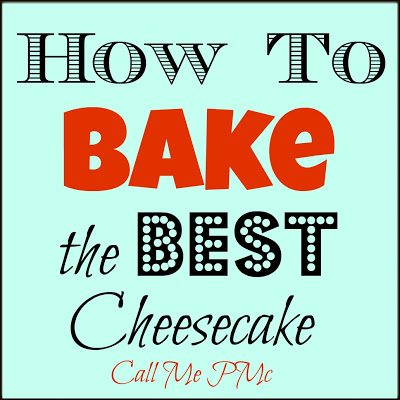 I'm spilling all the info on How to Bake the Perfect Cheesecake. Below are tips and suggestions for baking the perfect creamy cheesecake that doesn't crack.