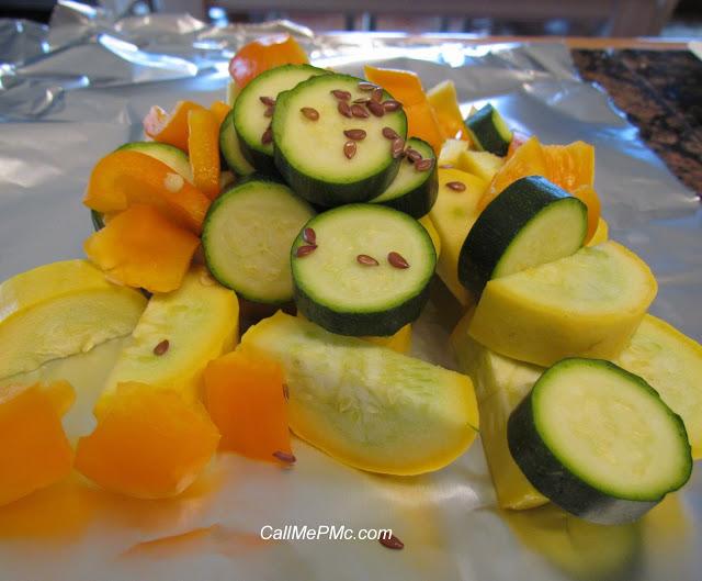 Healthy Shrimp and Vegetable Foil Pack Dinner