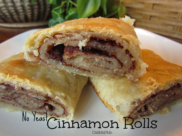 Old Fashion No Yeast Cinnamon Roll