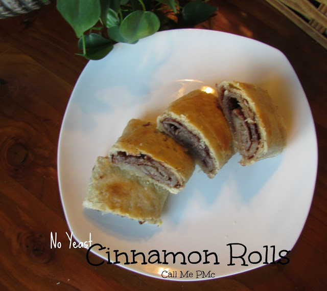 Old Fashion no yeast CINNAMON rolls from Call Me PMc