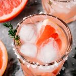 Pink Salty Dog is the perfect blend of sweet and sour. This cocktail is a refreshing combination of grapefruit juice and vodka with a salted rim. It is perfect for summer!