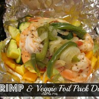Quick and Healthy Shrimp and Vegetable Foil Pack Dinner / Call Me PMc