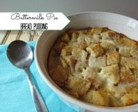 Amazing Buttermilk Pie Bread Pudding / Call Me PMc