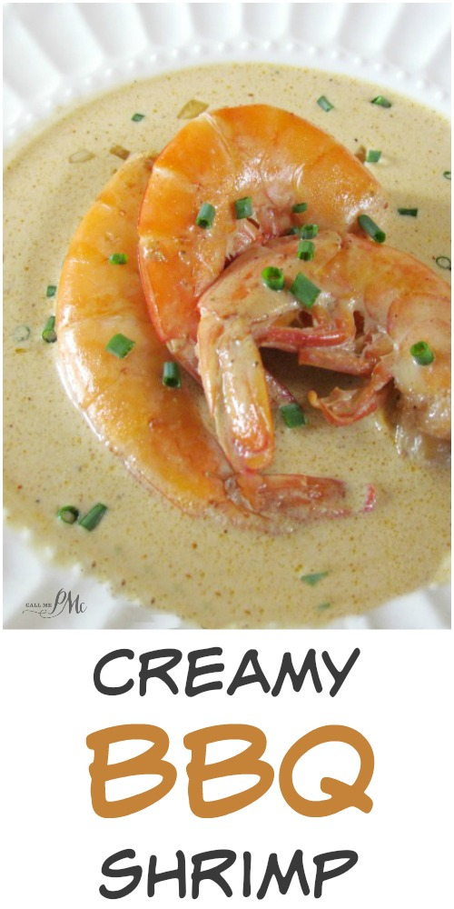 Creamy BBQ Shrimp recipe appetizer, party or entree New Orleans favorite!