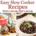 Slow Cooker Recipes from Call Me PMc and Crockpot GIVEAWAY!!