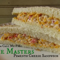 My Day at the Masters and The Masters Famous Pimento Cheese Sandwich